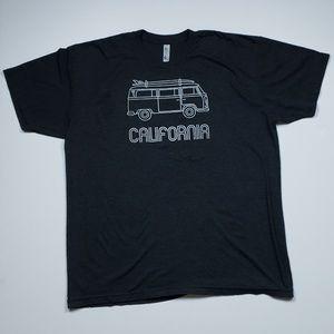 The 50 50 Graphic T Shirt - California Volkswagen